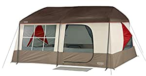 Wenzel Kodiak Family Cabin Dome Tent (Tan/Red)