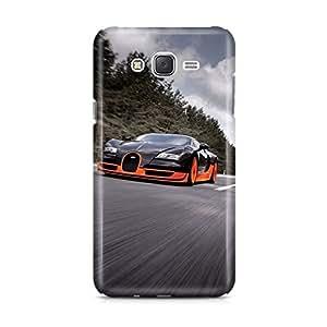 Motivatebox - Samsung Galaxy J1 Back Cover - car Polycarbonate 3D Hard case protective back cover. Premium Quality designer Printed 3D Matte finish hard case back cover.