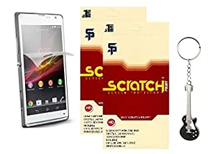 Scratch Pruff Matte Screen Guard For Sony Xperia E3 Pack of 2