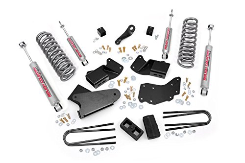 Rough Country - 515.20 - 4-inch Suspension Lift Kit w/ Premium N2.0 Shocks (Rough Country Ranger compare prices)