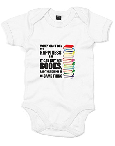 Kind Of The Same Thing, Printed Baby Grow - White/Black/Transfer 0-3 Months front-370518