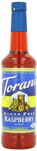 Torani Sugar Free Syrup, Raspberry, 25.4 Ounce (Pack Of 4)