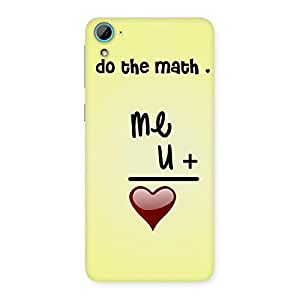 Love Maths Back Case Cover for HTC Desire 826