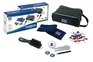 PGA Tour - Bolsa para zapatos de golf y juego de accesorios