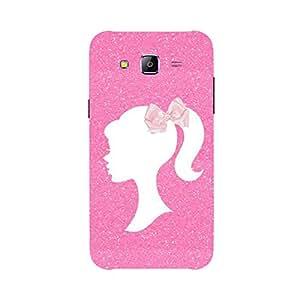Back cover for Samsung Galaxy E7 Pink Princess