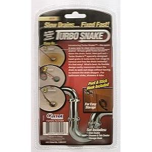 Turbo Snake Turbo Snake, Drain Hair Removal Tool 1 set