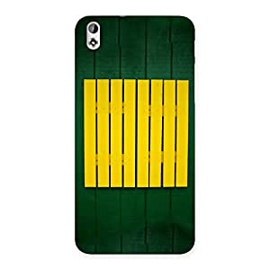 Special Green Squares Yello Back Case Cover for HTC Desire 816