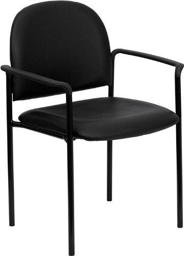 Flash Furniture BT-516-1-VINYL-GG Black Vinyl