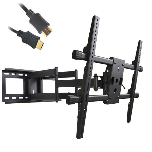 Review videosecu articulating plasma led lcd tv wall mount for Tv wall mount reviews