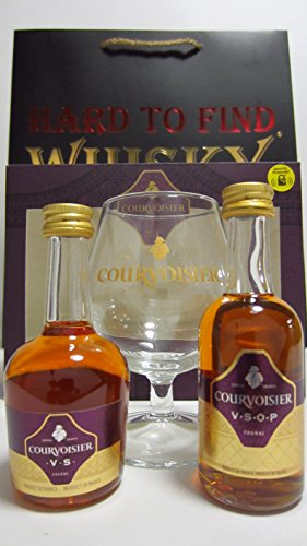 cognac-brandy-courvoisier-miniatures-glass-gift-set-hard-to-find-whisky-edition-whisky