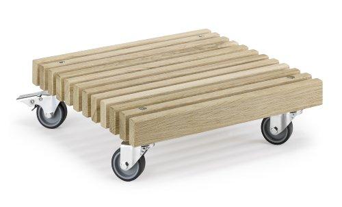 Kbelroller-ASINUS-stabiler-Pflanzenroller-aus-solider-Eiche-und-hochwertigen-Lenkrollen
