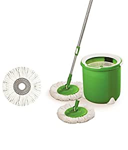 Scotch-Brite Jumper Spin Mop with Round Refill Heads