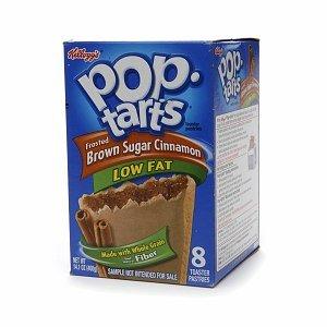 Kellogg's Pop-Tarts Frosted Brown Sugar Cinnamon Low Fat - 8 CT