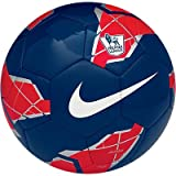 Nike T90 Pitch Premier League Football Blue/Red Size 5