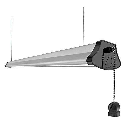 Residential Garage Led Lights: Garage LED Shop Light Fixture