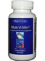 マルチビタミン ミネラル(女性向) 無添加 サプリメント 植物性カプセル150粒150~50日分x1本入【海外直送品】