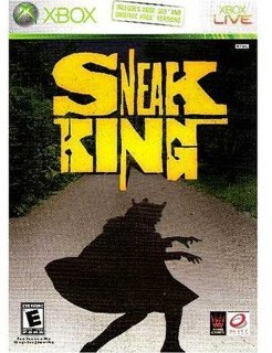 XBOX Game~Sneak King~Includes Both XBOX 360 &amp; 