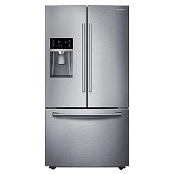 Samsung rf28hdedbsr french door refrigerator for 18 cubic foot french door refrigerator
