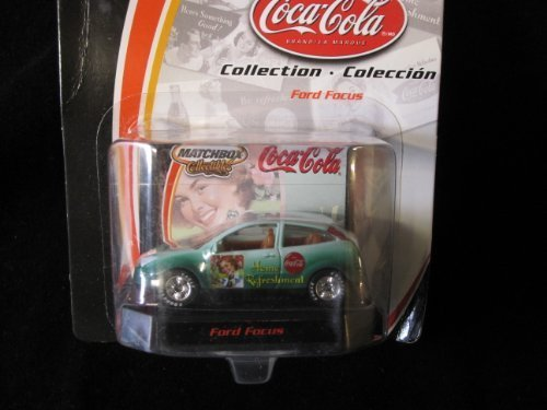 Ford Focus Matchbox Collectibles Coca-Cola #91583 - 1