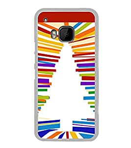 Christmas Tree 2D Hard Polycarbonate Designer Back Case Cover for HTC One M9 :: HTC One M9S :: HTC M9 :: HTC One Hima