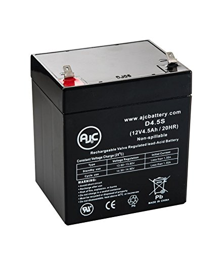 GE Concord Express 60-806-95R 12V 4.5Ah Alarm Battery - This is an AJC Brand® Replacement