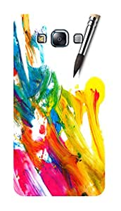 SWAG my CASE PRINTED BACK COVER FOR SAMSUNG GALAXY E7 Multicolor