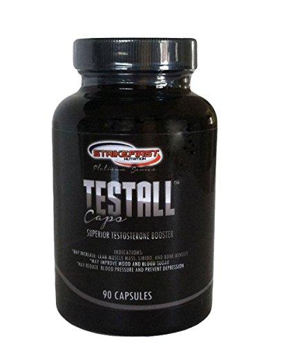 テストステロン ブースター テストステロン増強サプリメント  100%ナチュラル Testall Cap 90カプセル 「海外直送品」