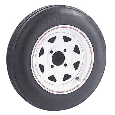 - 5-Hole High Speed Spoked Rim Design Trailer