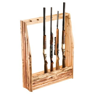 gun rack plans vertical