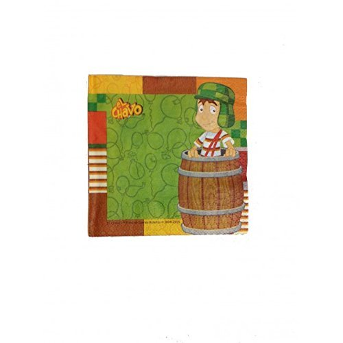 El Chavo del Ocho Party Napkins Cake Favor Birthday Decoration Supplies - 1