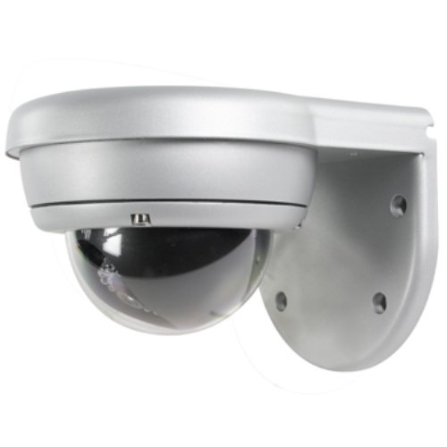 Konig High Resolution Vandal Proof Dome Camera for CCTV with Infra Red LED for Nightvision