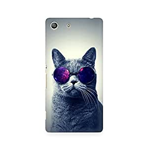 Ebby Classy Cat Premium Printed Case For Sony Xperia M5