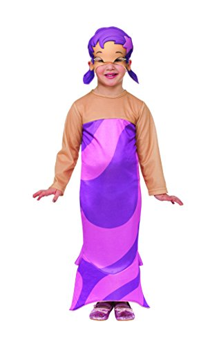 Rubies Bubble Guppies Oona Costume, Toddler Size front-1033931