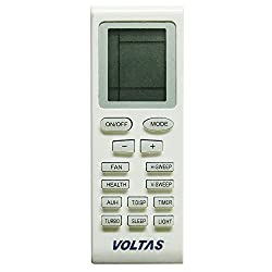 Voltas/Onida Split/Window Ac Remote Control (White)