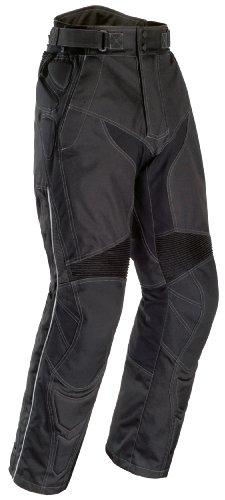 Tourmaster Mens Caliber Black Pants (Short Sizes) - Large