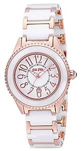 [フォリフォリ]FOLLI FOLLIE 腕時計 JAPANREQUEST ホワイト文字盤 ステンレス/セラミックケース ステンレス/セラミックベルト デイト WF0B033BDW レディース 【並行輸入品】