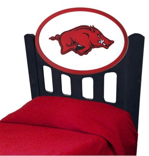 Cheap Arkansas Razorback Kids Wooden Twin Headboard With Logo (C0526S-Arkansas)
