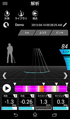 EPSON(エプソン) ゴルフ上達支援システム M-Tracer For Golf パッティング解析機能付 MT500GP
