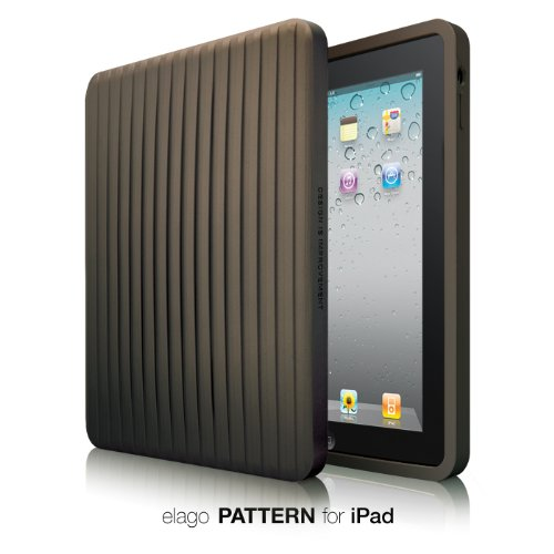 elago Pattern Silicone Cover for iPad - Chocolate