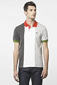 Short Sleeve Pique Italy Flag Polo