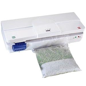 Soude sac congélation électrique 150W sous vide avec dateur - MIA FS8283 - Folio Vacu-Data Electronic