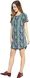 AVIRICH Women's Dress (Green, M)