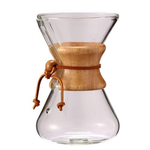 Chemex ケメックス コーヒーメーカー ハンドメイド 6カップ用 ドリップ式 CM-2 ハンドブロウ 並行輸入品
