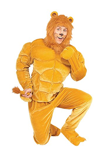 Forum Novelties Men's Twosomes Macho Lion Adult Costume