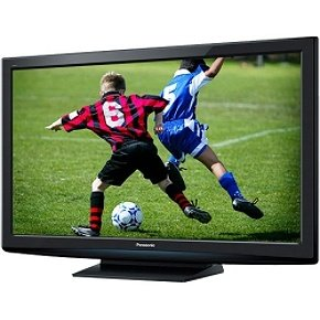 The Electronics World |   Panasonic TC-P54S2 54-Inch 1080p HDTV with Viera Image Viewer, Clean Touch Bezel
