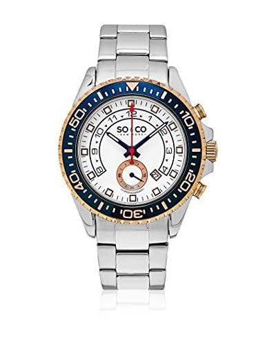 So&Co New York Reloj con movimiento cuarzo japonés Man New York Gp15340 44 mm