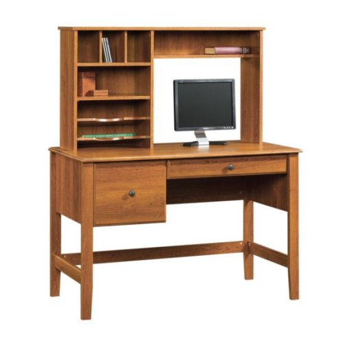 Shaker Cherry Computer Desk w/ Hutch