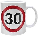 Pyramid International 1-Piece Ceramic 30-Traffic Sign Mug