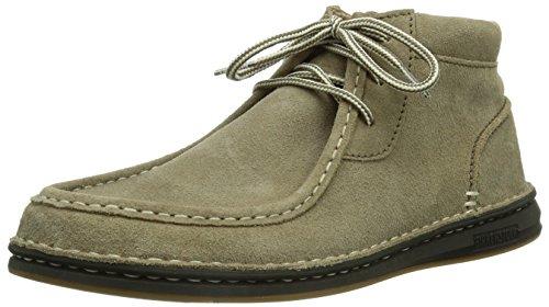 Birkenstock Shoes - Scarpe basse stringate Pasadena High, Uomo, Grigio (Grau (Taupe)), 42