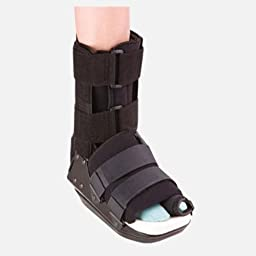 Bledsoe Bunion Walker Cam Boot, Standard Ankle/Heel Pad Large